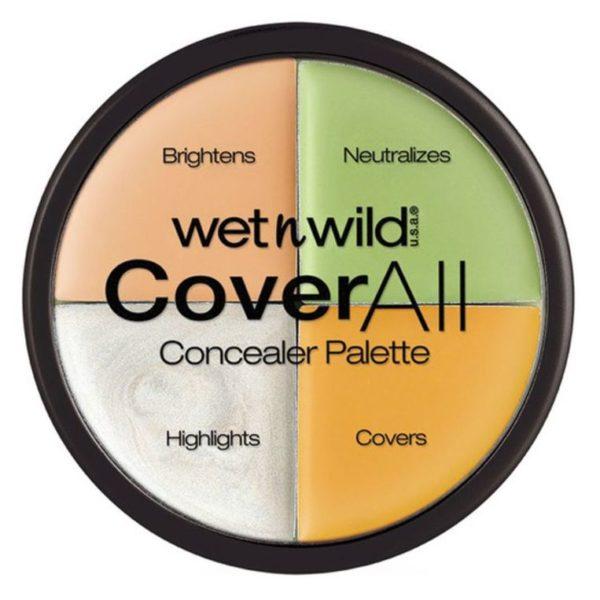 Wet N Wild Cover All Concealer Palette Multi Color