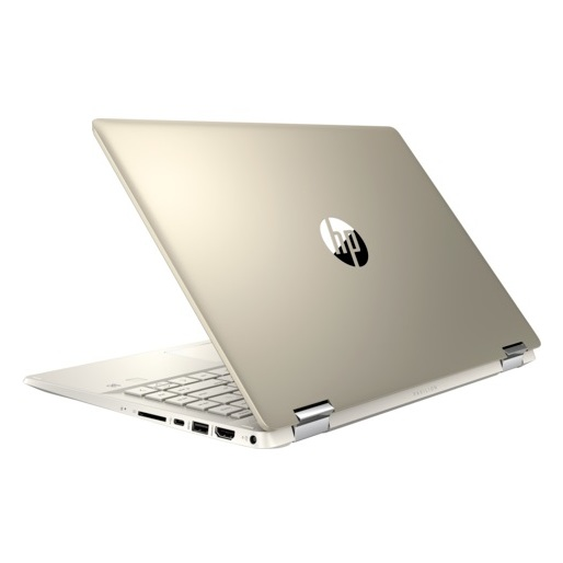 HP Pavilion x360 14-DH0002NE Convertible Touch Laptop - Core i5 1.6GHz 8GB 1TB+128GB 2GB 14inch FHD Warm Gold