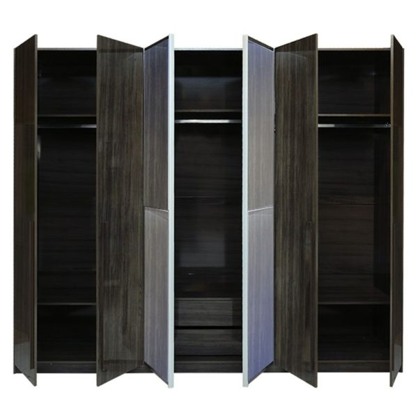 Pan Emirates Peeyton 6 Door Wardrobe