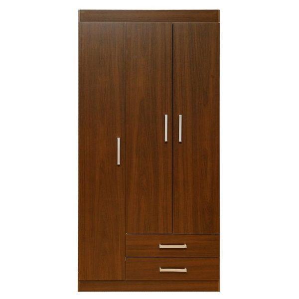 Pan Emirates Formia 3 Door Wardrobe With 2 Drawers