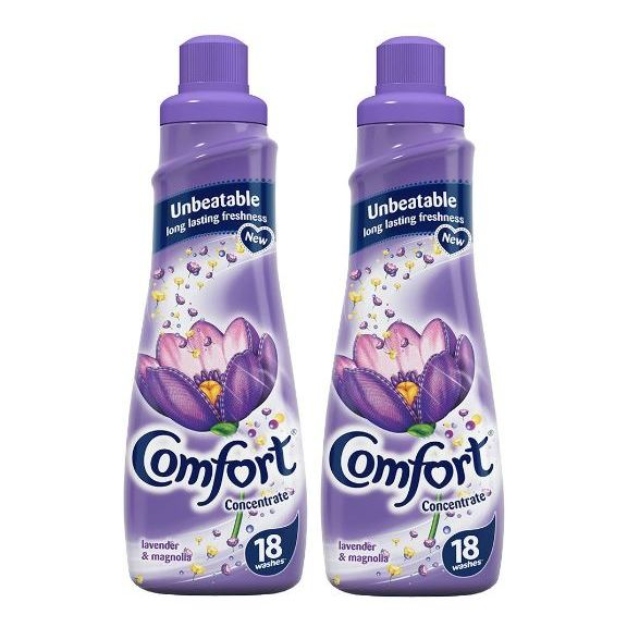 Comfort Fabric Conditioner Lavender & Magnolia Scent 75ml Pack of 2