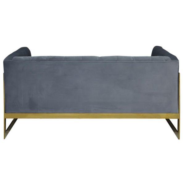 Pan Emirates Lifespan 2 Seater Sofa Gold Frame