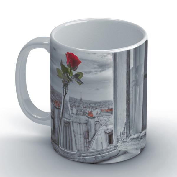 Assaf Paris White Wackylicious Coffee Grey Frank Mug YD9W2EHIe