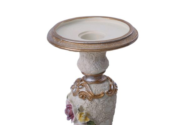 Pan Emirates Gaily Candle Holder Cream