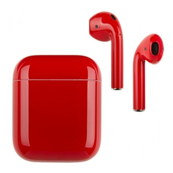 Buy Merlin Craft Airpods 2 Glossy Red With Wireless Charging Case