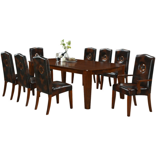Montague 8 Seater Dining Set 1+2+6