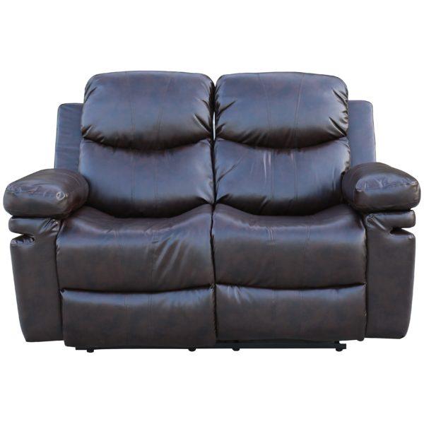 Home Style Zoe Recliner Sofa Set 3+2+1 - Burgundy