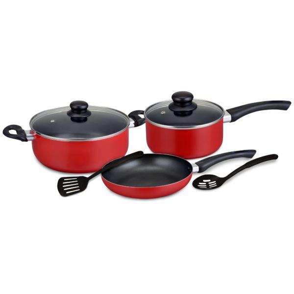 DelcasaDC 7 Pc Caliber Nonstick Cookware Set