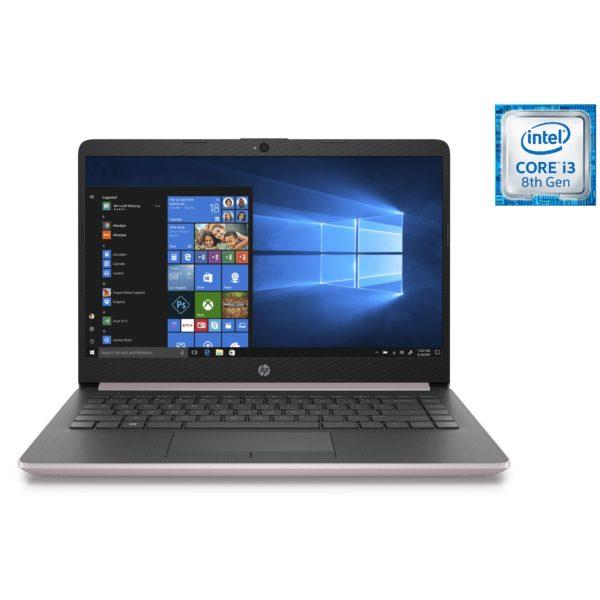 HP 14-CF1002NE Laptop - Core i3 2.1GHz 4GB 256GB Shared Win10 14inch HD Natural Silver