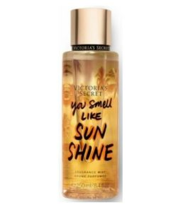 Victoria's Secret You Smell Like Sun Shine Body Mist 250ml