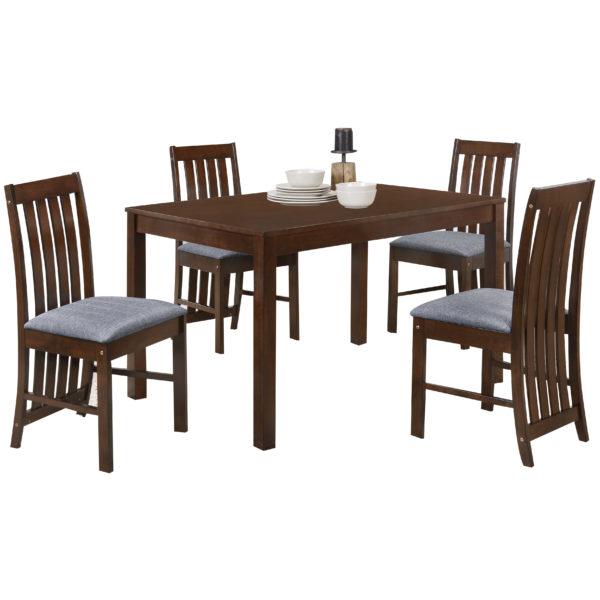 Midan 4 Seater Dining Set Oak