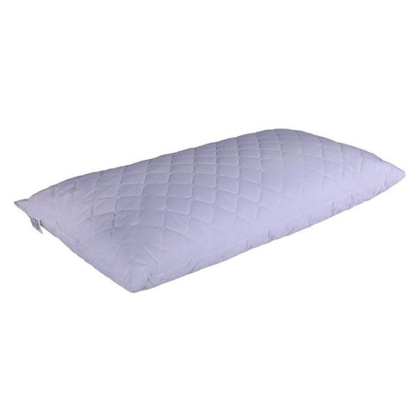 Ultrasonic Quilted Pillow White