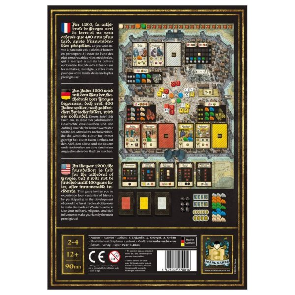 Pearl Games Troyes Base Game