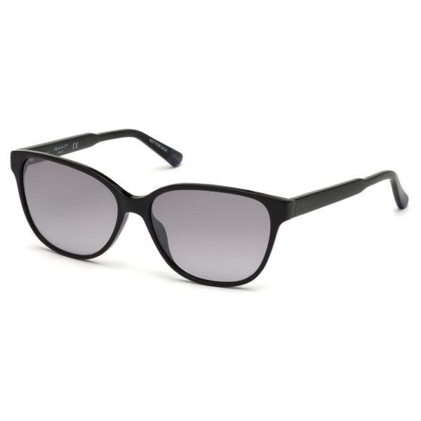 Gant GA-8060-01B-58 Women's Sunglass Shiny Black/Smoke Plastic