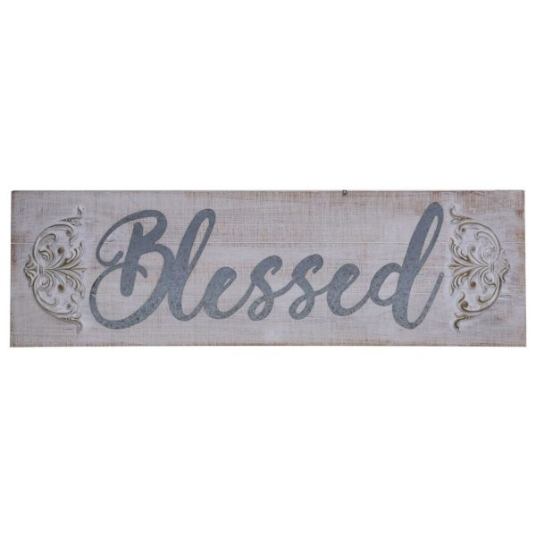 Buy Pan Emirates Blessed Wooden Wall Deco White – Price ...