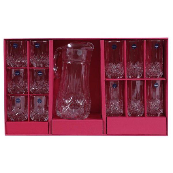 Pan Emirates Brighton 13pcs Drink Set Clear