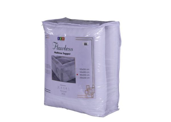 Flawless Mattress Protector 120x200cm White