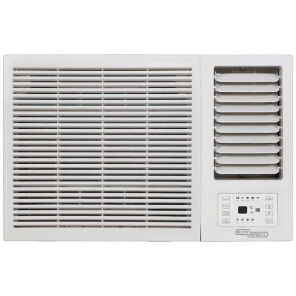 Super General Window Air Conditioner With Remote 1.5 Ton SGA18CRN