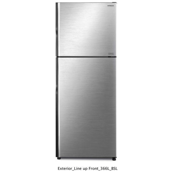 Hitachi Top Mount Refrigerator 500 Litres RV500PUK8KBSL