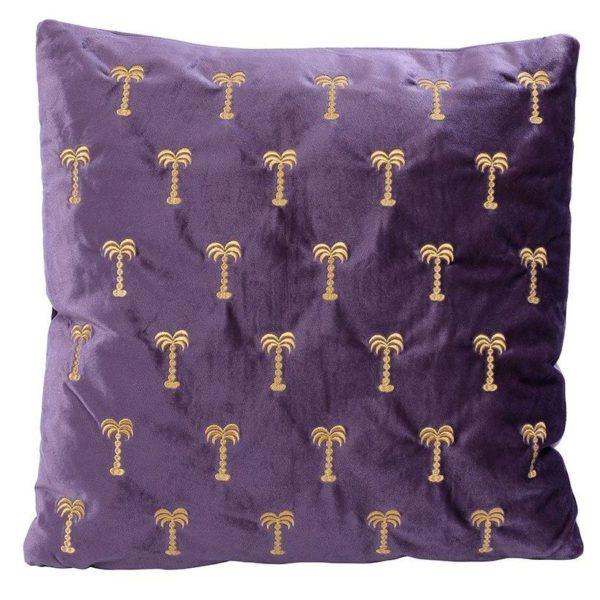 Saray Filled Cushion Purple