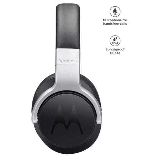 98bb0742930c6a Buy Motorola Escape 500 ANC Bluetooth Over Ear Phone Black – Price ...