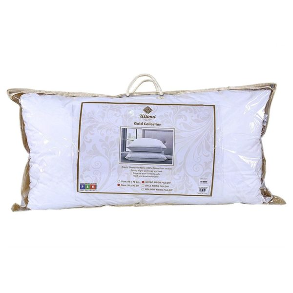Ultima Queen Pillow 1200gm 233TC DWP White