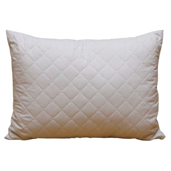 Ultrasonic Quilted Pillow 1000gm White