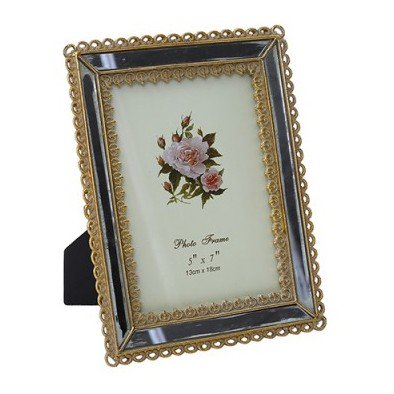 "Pan Emirates Asni Photo Frame 5x7"" Gold"