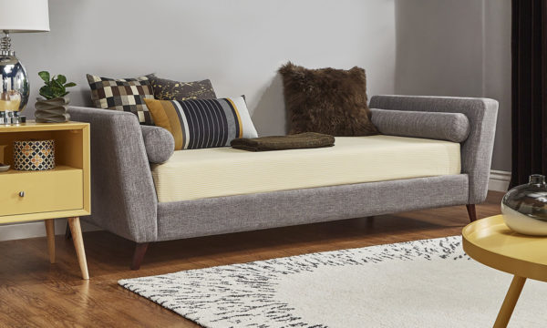 Modern Sofabed Sofabed Frame With Mattress Grey