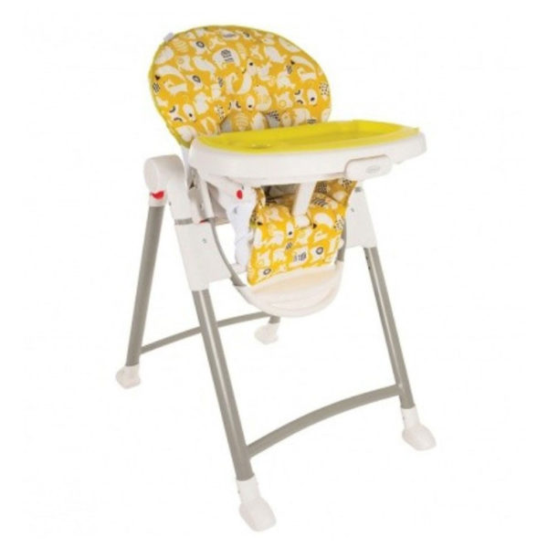 Graco High Chair Contempo Spring Lime