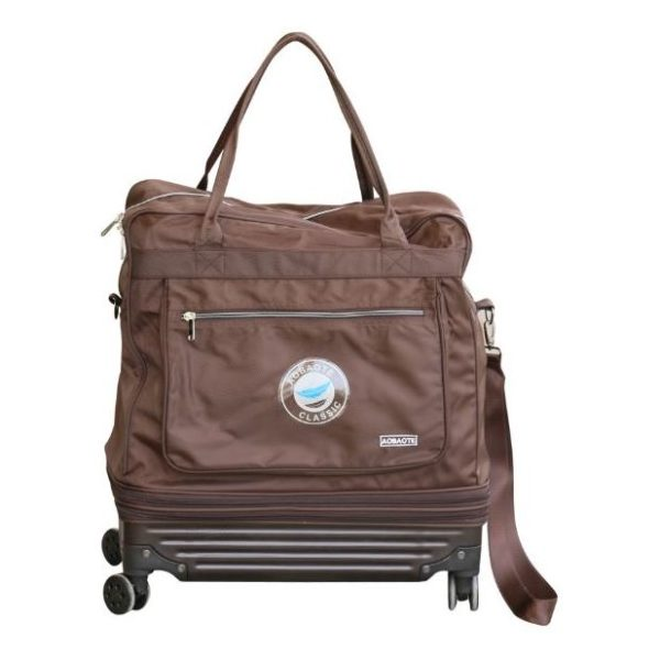 Aoboate Travelling Bag With Wheels Coated Polyester 32inch