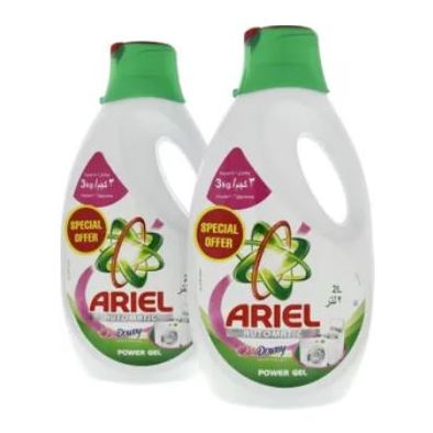 Ariel Automatic Power Gel Laundry Detergent Downy 2L x 2