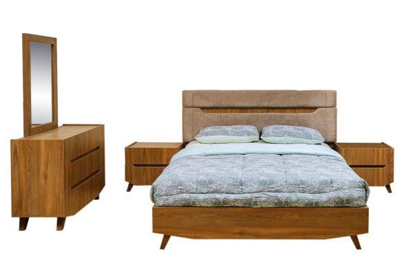 Pan Emirates Philsbury 4pc Bedroom Set