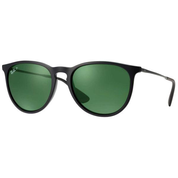 RayBan Erika Classic Black Polarized Unisex Sunglasses