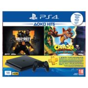 Sony PS4 Slim Gaming Console 1TB Black + Call Of Duty Black OPS IIII + Crash Bandicoot N Sane Trilogy Game + 1 Month Playstation Plus Membership