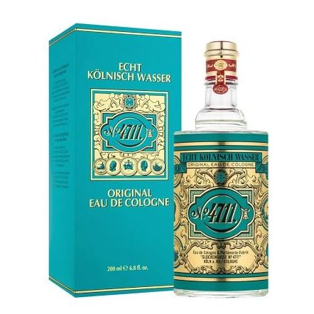 4711 Cologne Perfume For Unisex 200ml Eau de Cologne
