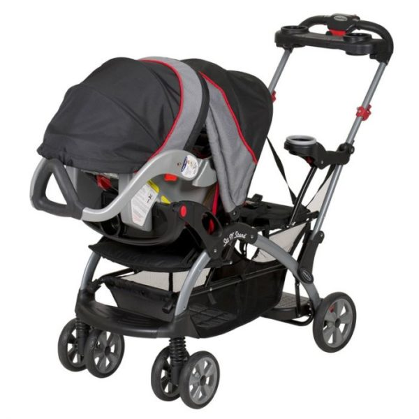 Baby Trend California Twin Stroller Sit N Stand 15 Riding Position With No Back Seat
