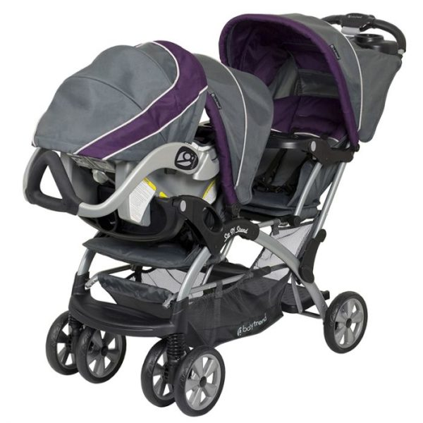 Buy Baby Trend California Twin Stroller Sit N Stand 15 ...