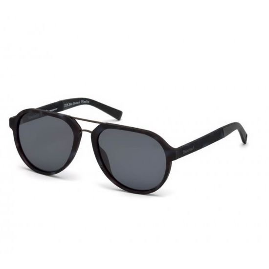 Timberland TB9142-56D-56 Men's Sunglasses Havana/Smoke