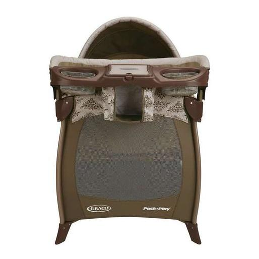 Graco Pack N Play Silhouette Farrow Travel Cot