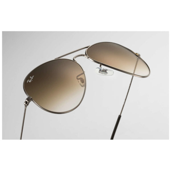 RayBan RB3025-004/51-58 Aviator Gunmetal Unisex Sunglasses