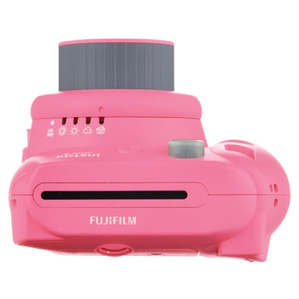 Fujifilm Instax Mini 9 Instant Film Camera Flamingo Pink + 10 Sheets