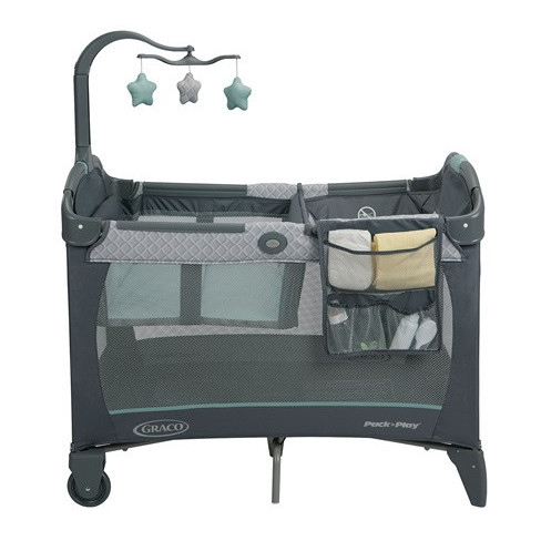 Graco Pack N Play Change N Carry Manor Travel Cot