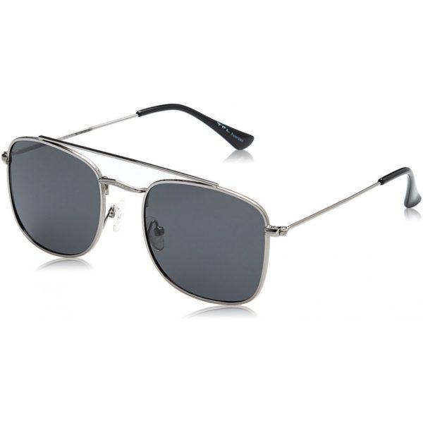 TFL Square Shaped Men's Black Polarized Sunglasses