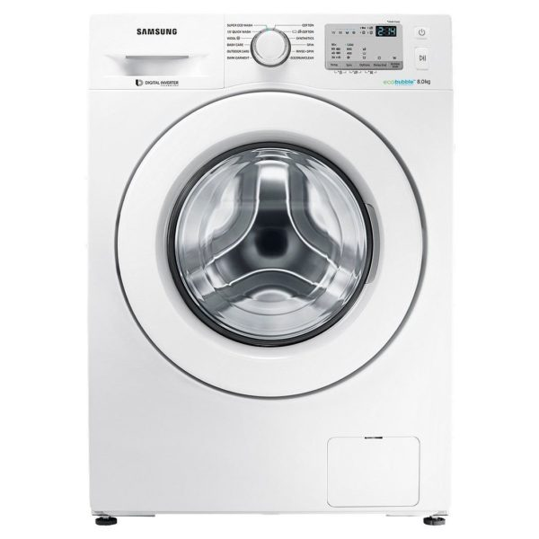 Samsung Fully Automatic Front Load Washer 8kg WW80J4213KW