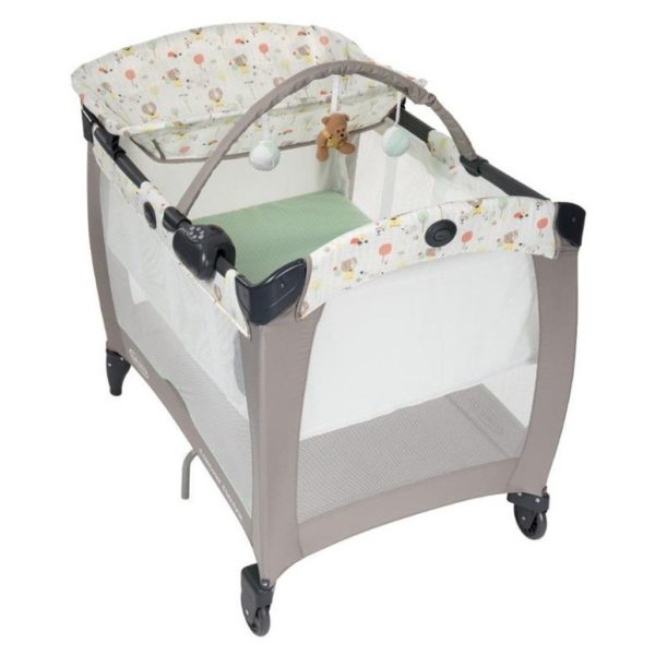 Graco Pack N Play Contour Electra Ted & Coco Travel Cot