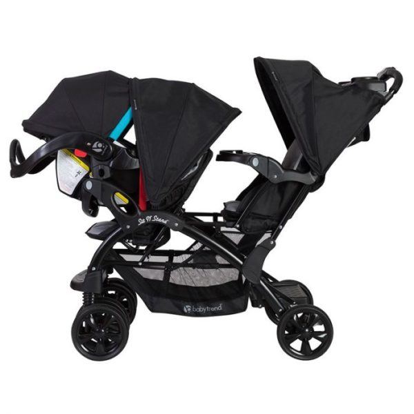 Baby Trend California Twin Stroller Sit N Stand 15 Riding Position