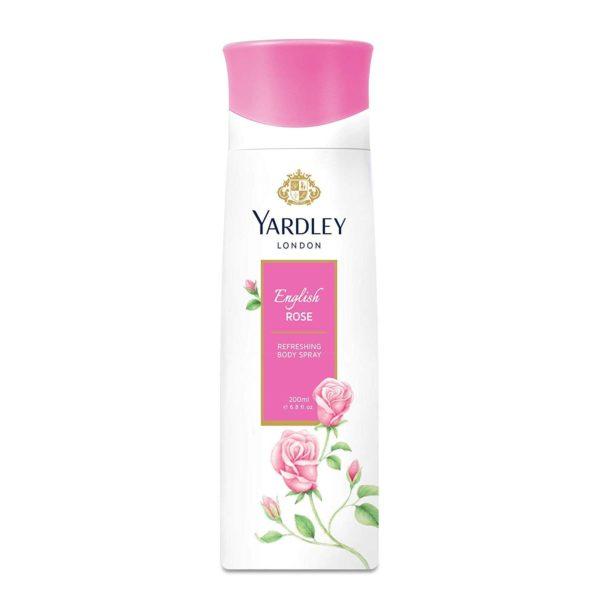 Yardley English Rose Body Spray 200ml