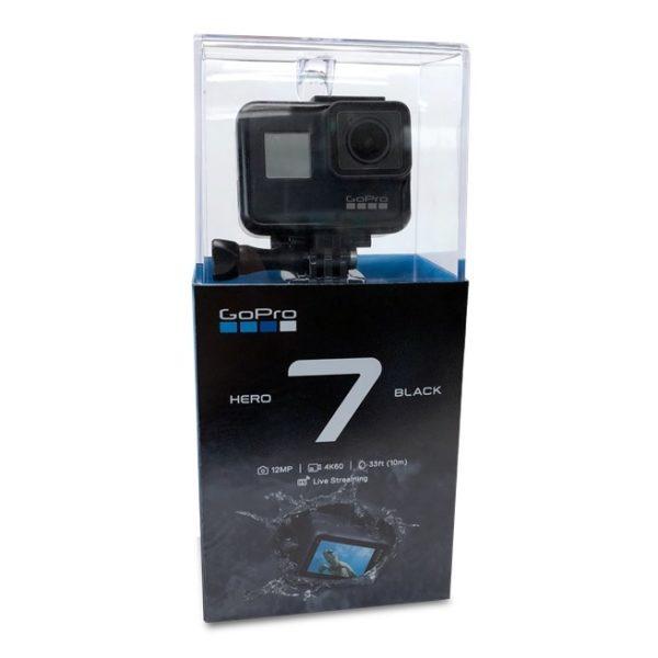 GoPro Hero 7 Action Camera Black + 3WAY Bundle