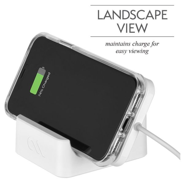 Case Mate Wireless Power Pad With Stand - White